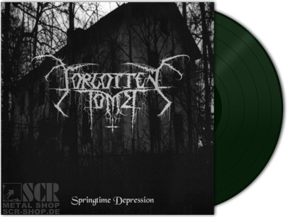 FORGOTTEN-TOMB-Springtime-Depression-DARK-GREEN-Vinyl-LP